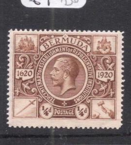Bermuda SG 74 MNH (5dlv)