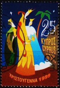 Cyprus. 1999 25c S.G.981 Fine Used