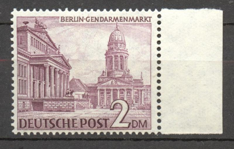 Berlin  1949, Buildings 2 Mark MNH, with margin, no faults superb !