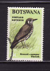 Botswana 21 U Ground-scraper Thrush, Bird (A)