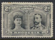 British South Africa Company / Rhodesia  SG 128 MH  see details