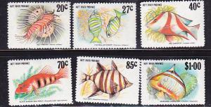 Hutt River Province 1982 Tropical Fish Used