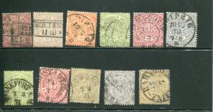 North German Conf, #13/23  used  only #20 missing HICV
