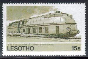 Lesotho SC#454 MNH Trains
