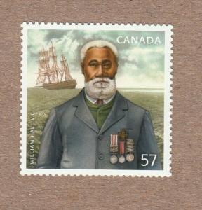 BLACK HISTORY MONTH = NOVA SCOTIA = WILLIAM HALL = CANADA 2010 #2369 MNH-VF q05