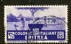 ERITREA 163 USED SCV $9.50 BIN $3.75 PEOPLE