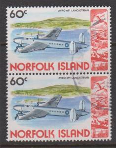 Norfolk Island Sc#266 Used Pair