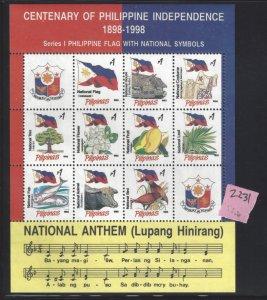 2231 Lupang Hinirang/Anthem/National Symbols CV$15
