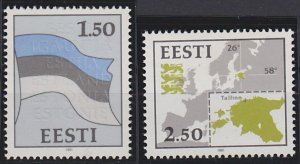 Estonia 209-210 MNH (1991)