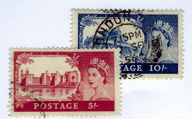 Great Britain SC#309-310 Used VF...Worth a close look!!