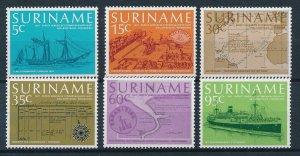[SU091] Surinam Suriname 1977 Steam Passenger Transport Ship - Paramibo MNH