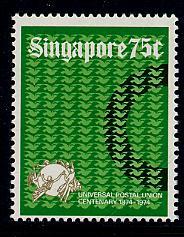 Singapore Scott # 214, mint nh