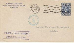 1926, 1st Flt., Barrios, Guatemala to Quiche, Guatemala (32589)