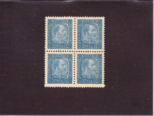 Iceland  Scott#  40  MNG  Block of 4