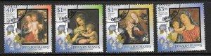 PITCAIRN ISLANDS SG656/9 2003 CHRISTMAS FINE USED