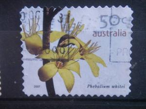 AUSTRALIA, 2005 used 50c Flowers Scott 2397-2400 Self-Adhesive