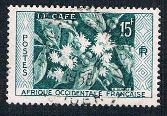 French West Africa 73 Used Coffee (BP10012)