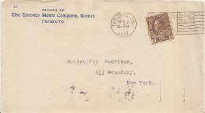 Canada 2c+1c Brown War Tax KGV Admiral 1917 Toronto, Ont. $25 for $21.50 Buy ...