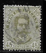 -Italy 71 used 2017 SCV $9.00 is missing some perfs  - 16639