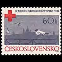 CZECHOSLOVAKIA 1964 - Scott# 1251 Red Cross Set of 1 NH