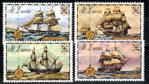 St Lucia #337-40 MNH CV $2.50