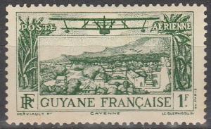 French Guiana #C2 F-VF Unused  (V4101)