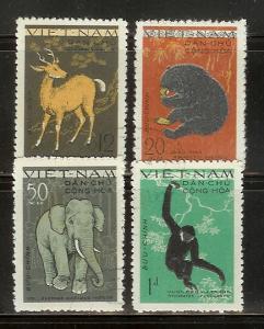 North Vietnam 148-151 Set U Animals (B)