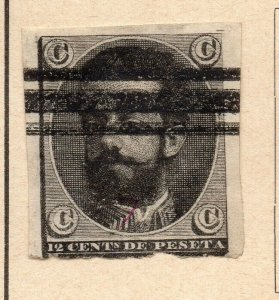Spain 1870 Early Issue Fine Used 12c. NW-16567