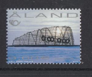 Aland MNH 2002 3E Radar II sculpture by Stefan Lindfors