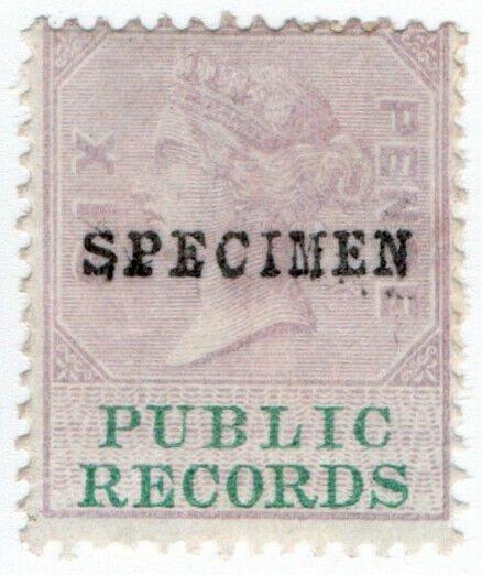 (I.B) QV Revenue : Public Records 6d (specimen)