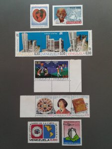 Venezuela 995,1001-1006,1013-1015,1031,1041 F-VF MH. Scott $ 7.30