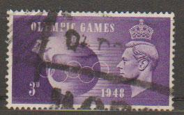 GB George VI  SG 496 Used