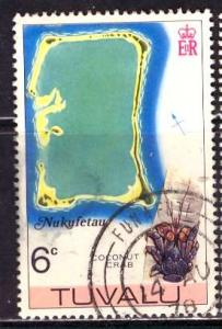 Tuvalu; 1978: Sc. # 62: O/Used Single Stamp