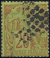 French Colonies  - 52 - Used - SCV-18.00