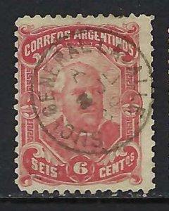 ARGENTINA 62 VFU Z2410