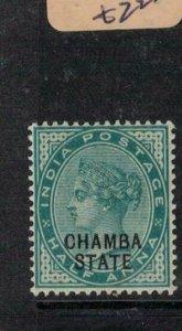 India Chamba SG 1 MNH (1eul)