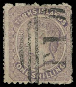 Turks Islands Scott 6 Gibbons 6 Used Stamp