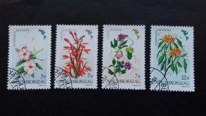 Hungary 1991 Flowers of America Used