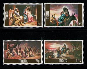MALTA 1979 MNH SC.B34/B37 Christmas