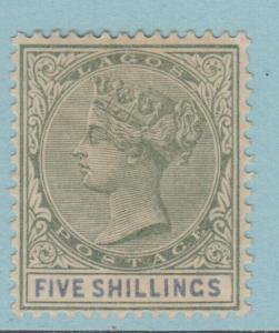 LAGOS 36  MINT HINGED OG *  NO FAULTS EXTRA FINE