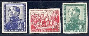 GDR   MAO   #82-84  Mint VF NH  Lakeshore Philatelics