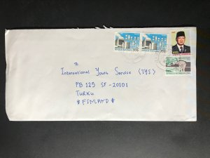 Indonesia #780//B242 Cover to Finland (1970-1999) Cover #2350