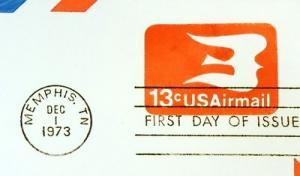 UC47, 13c U.S. Postage Envelopes qty 3