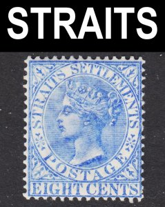 Malaya Straits Settlements Scott 50 VF mint OG HR.