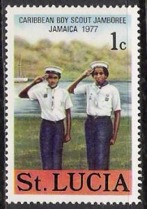 St Lucia #420 Boy Scout Jamboree MNH