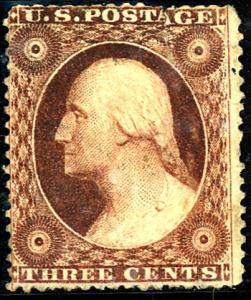 U.S. #26 Type II Used Brownish