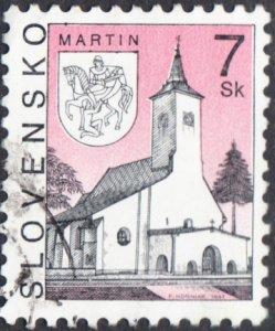 Slovakia  #222 Used