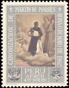 Peru #C197-C199, Complete Set(3), 1965, Never Hinged