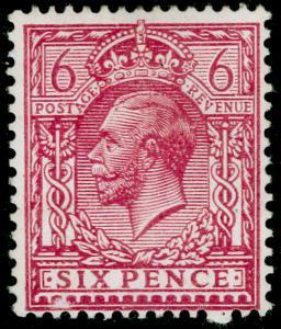 SG385 SPEC N26(3), 6d reddish purple, NH MINT. Cat £30.