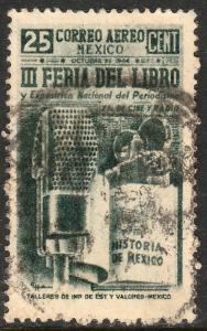 MEXICO C142, 25c Book Fair. Used. F-VF.  (771)